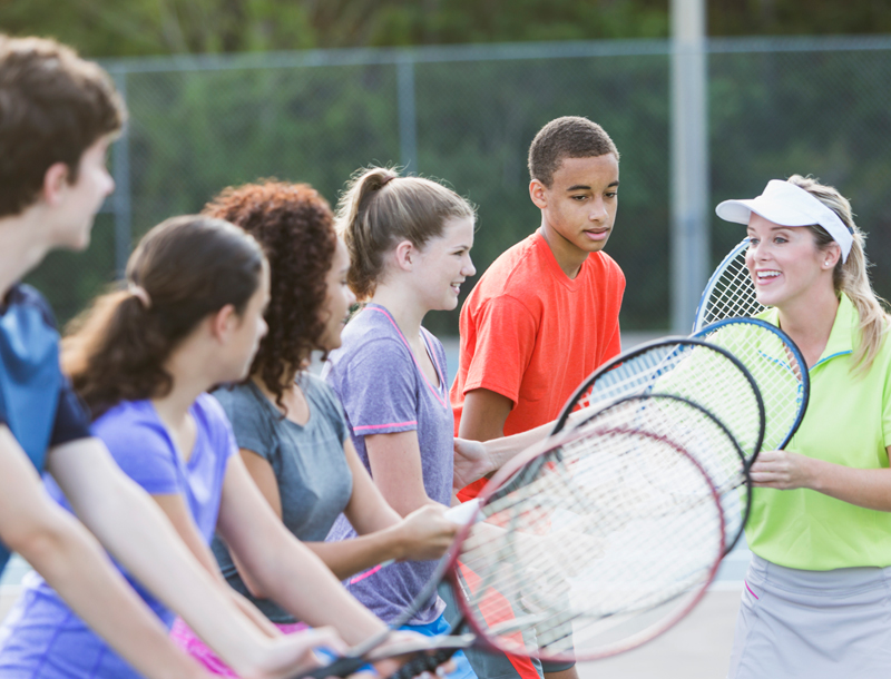 Tennis in 5 Lessons